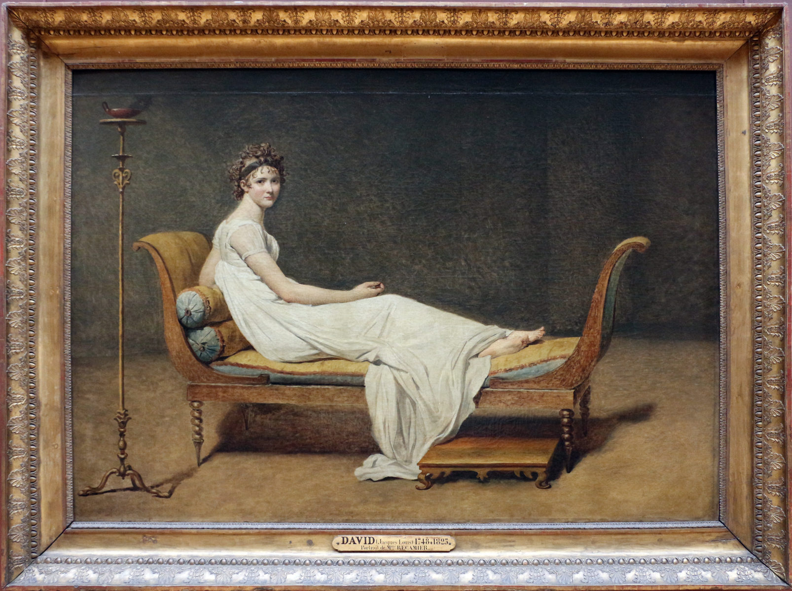 Madame Récamier di Jacques-Louis David