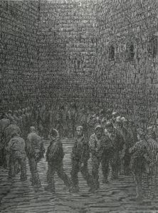 Gustave Doré, Newgate: The Exercise Yard, 1872