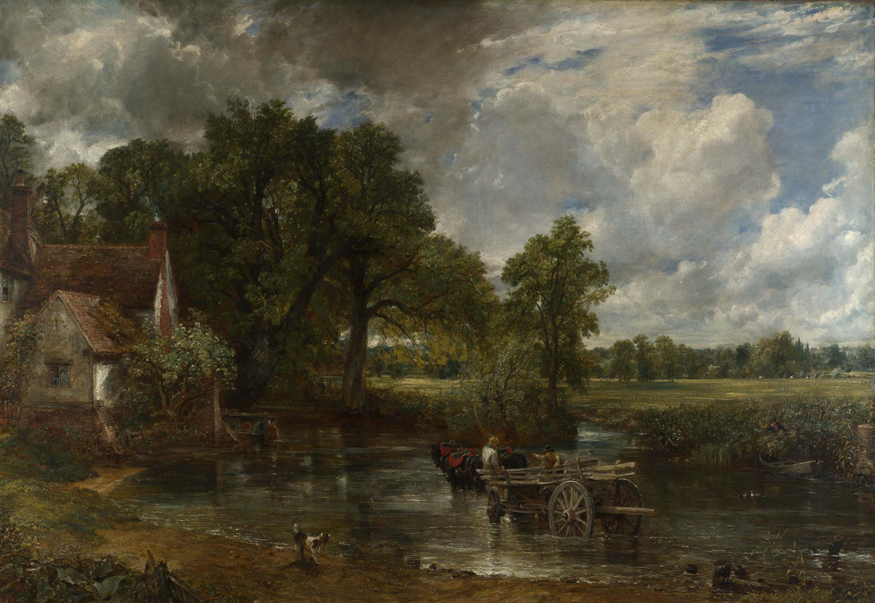 Il carro di fieno (The Hay Wain) di John Constable