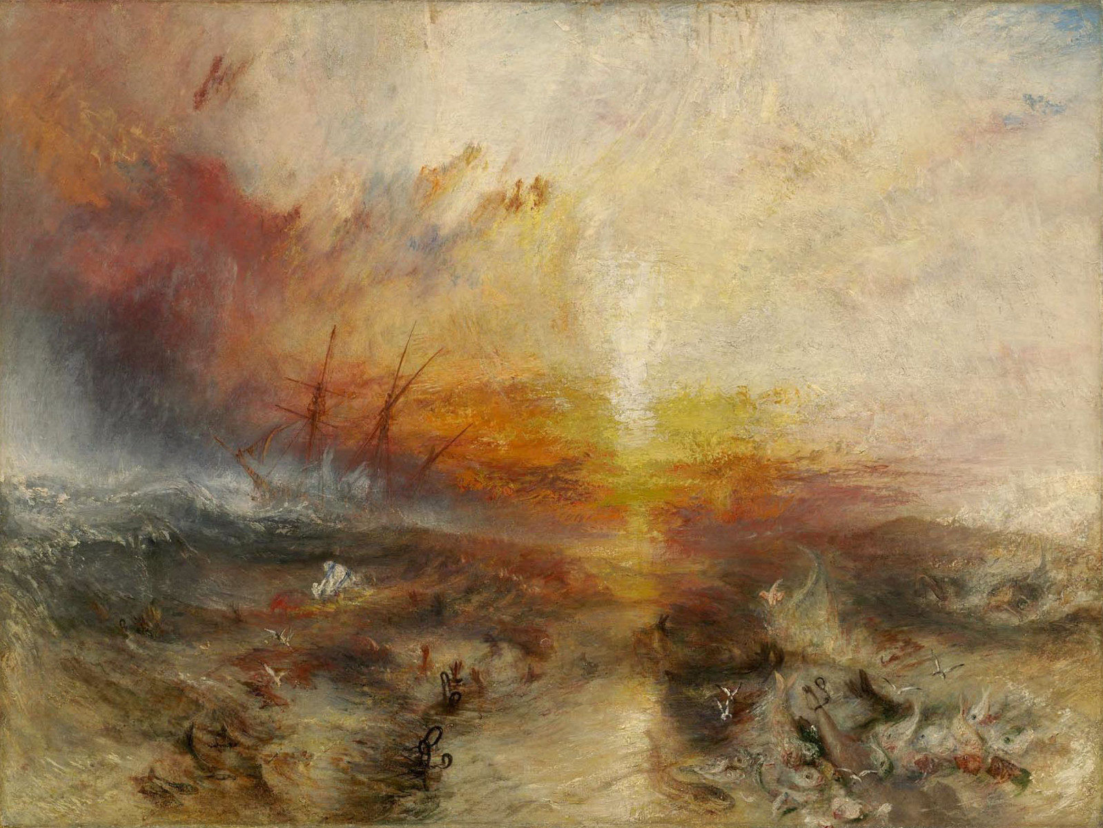 Nave di schiavi di William Turner