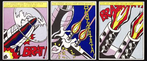 As I opened fire di Roy Lichtenstein
