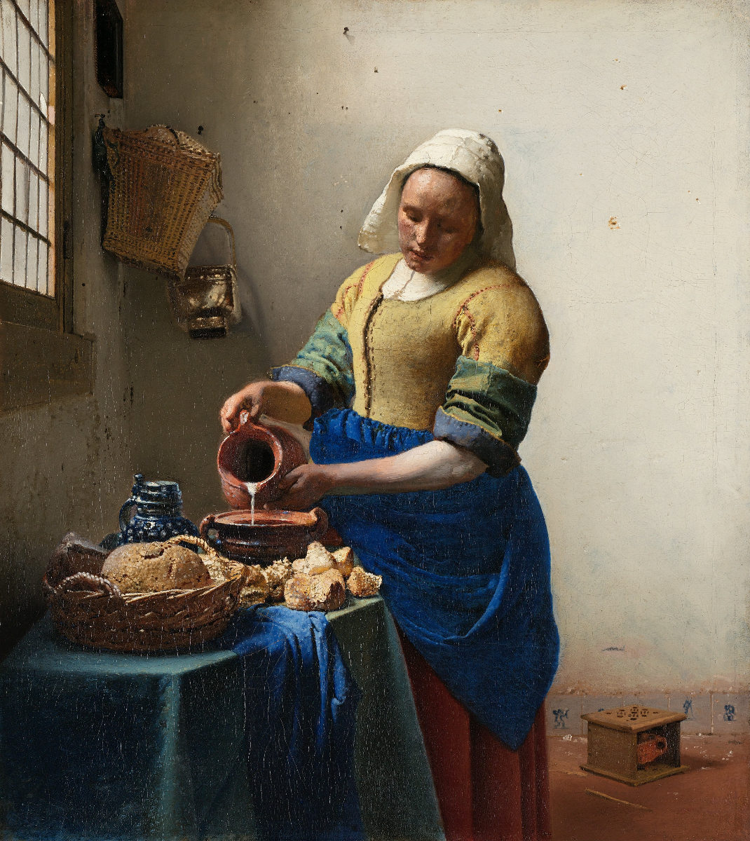 La lattaia di Jan Vermeer - ADO Analisi dell'opera