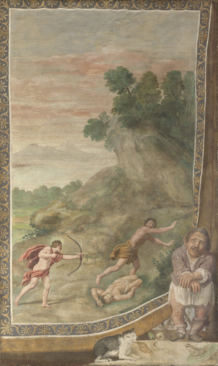 Apollo che uccide i Ciclopi del Domenichino