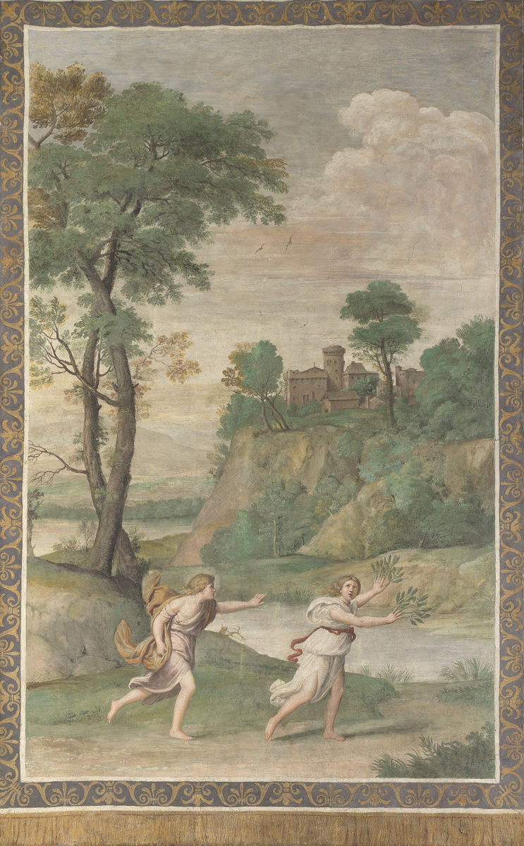 Apollo e Dafne del Domenichino