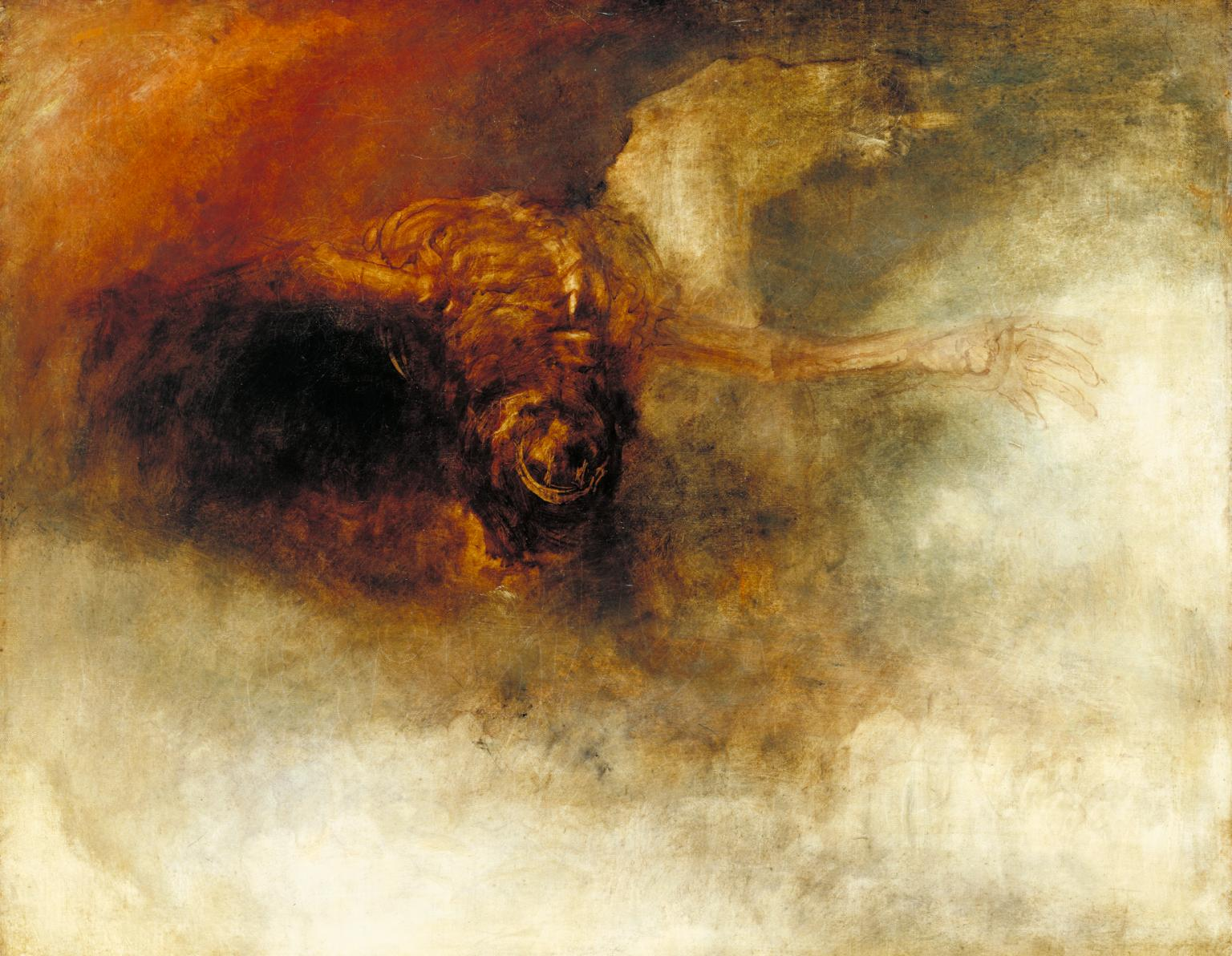 La caduta della anarchia (The Fall of Anarchy (?) di Joseph Mallord William Turner