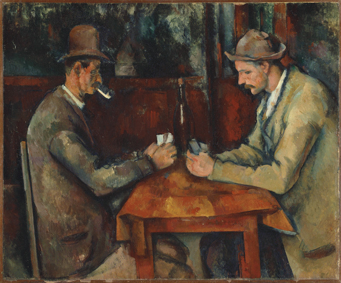 Giocatori di carte di Paul Cézanne