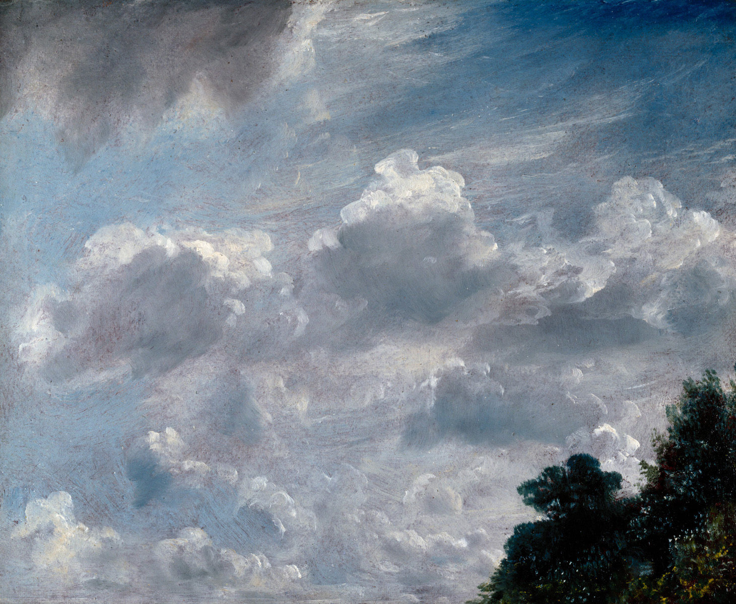 Studio di nuvole a Hampstead di John Constable
