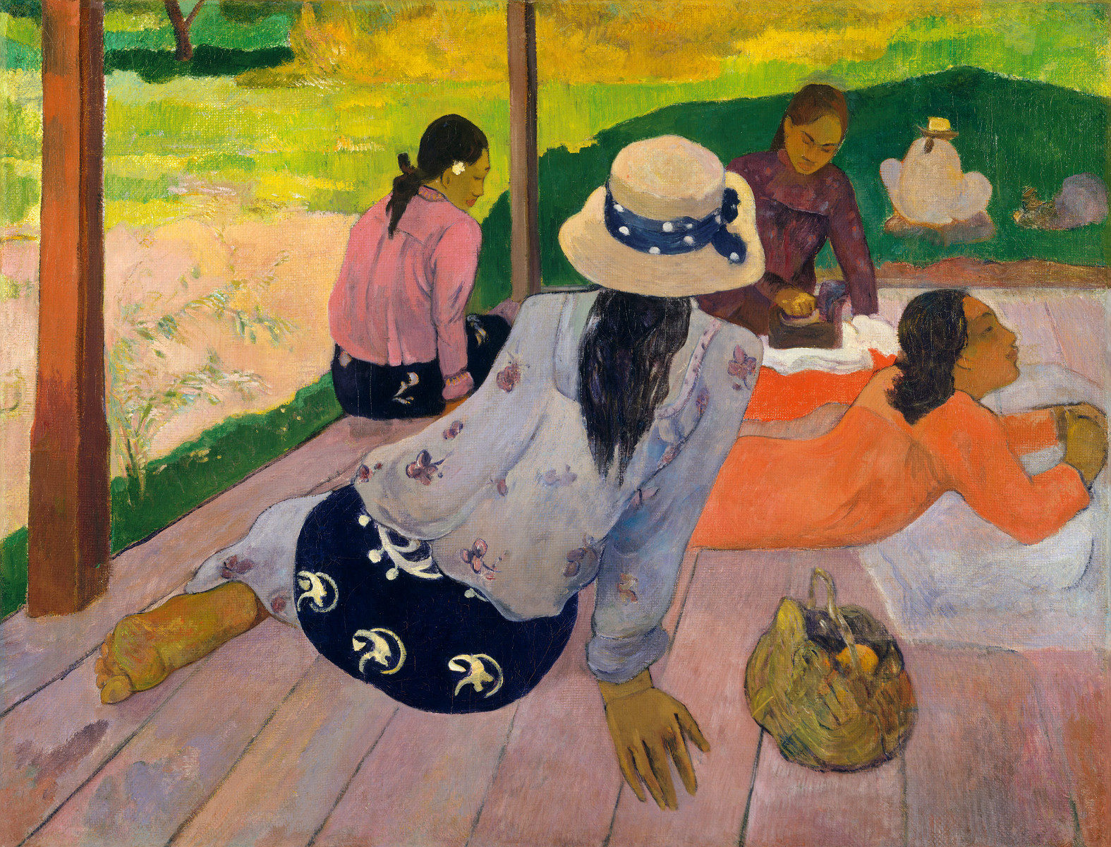 La Siesta di Paul Gauguin