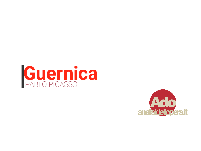 Il video di Guernica di Pablo Picasso