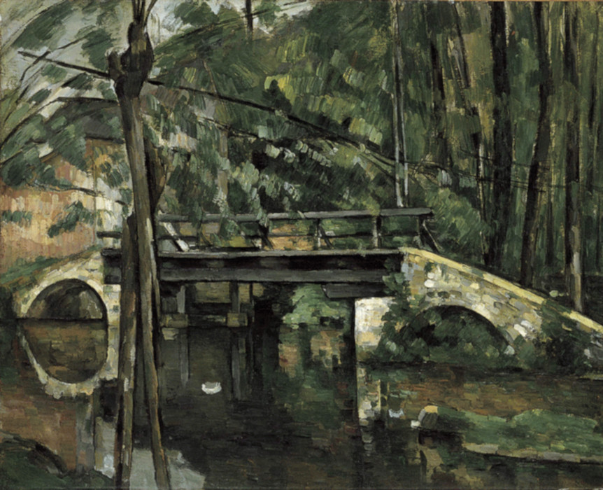 Il ponte di Maincy di Paul Cézanne