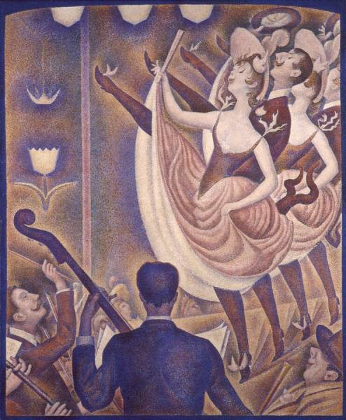Lo Chahut di Georges Seurat