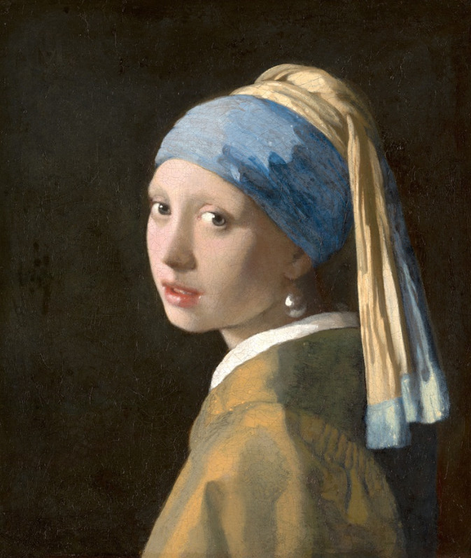 Ragazza con turbante di Jan Vermeer