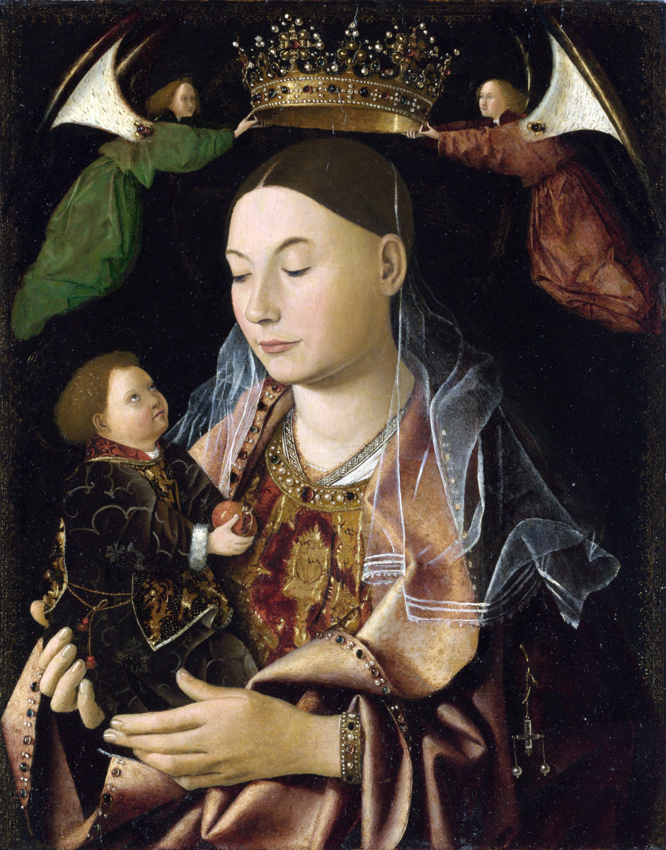 Madonna Salting di Antonello da Messina
