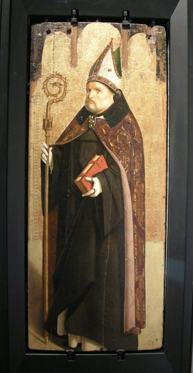 San Benedetto di Antonello da Messina