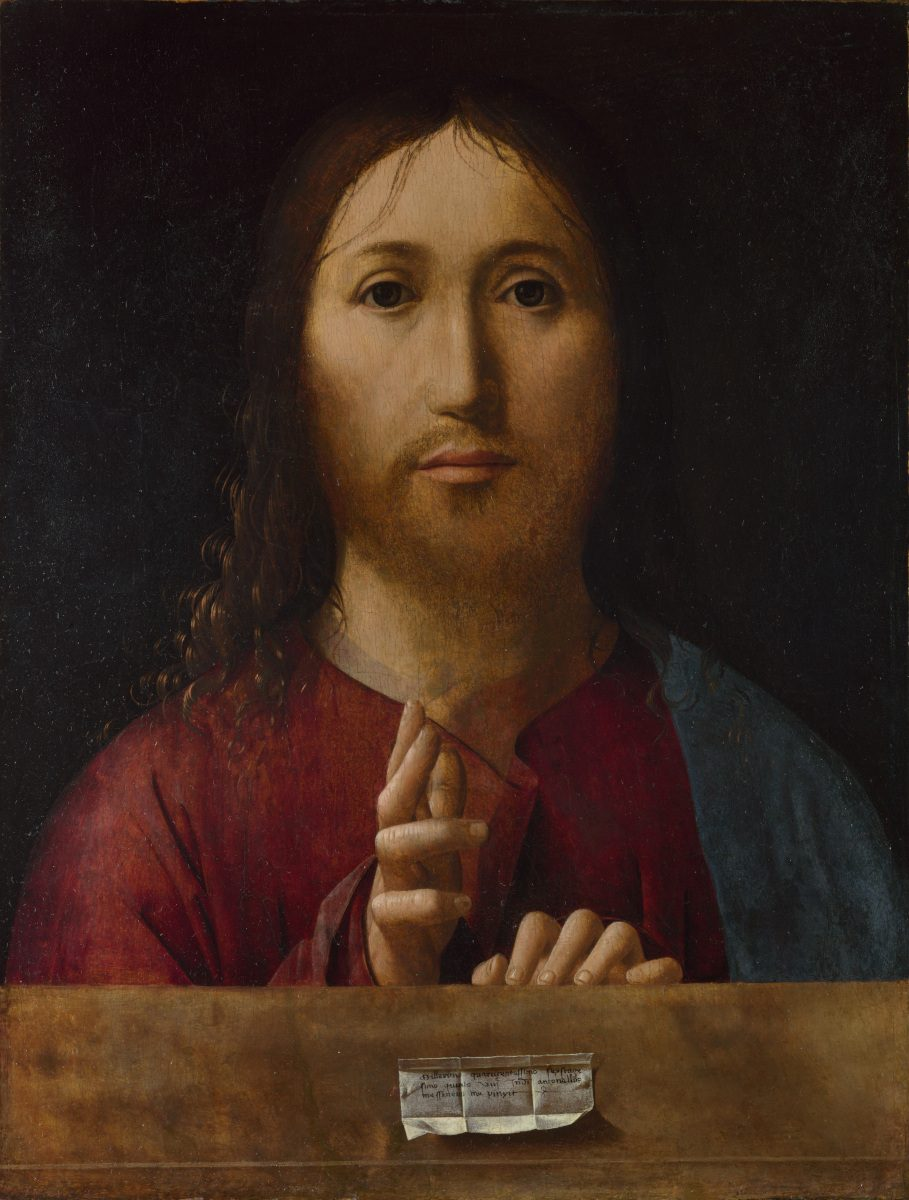 Salvator mundi di Antonello da Messina