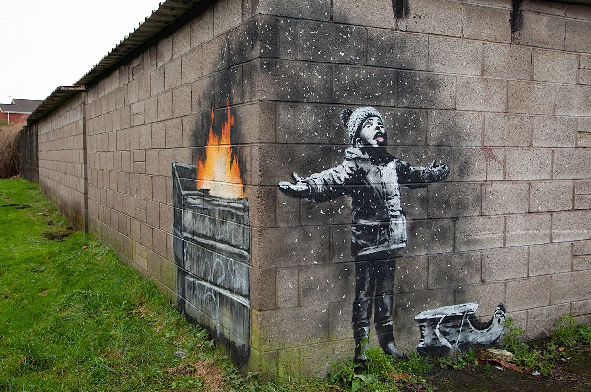 Season's greetings di Banksy