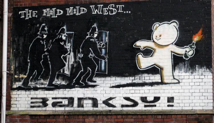 The Mild Mild West di Banksy