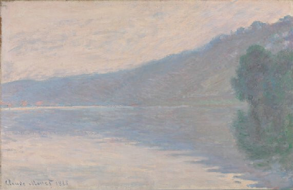 La Seine à Port-Villez di Claude Monet, London, National Gallery