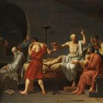 La morte di Socrate di Jacques-Louis David