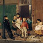 The Bully of the Neighborhood di John George Brown