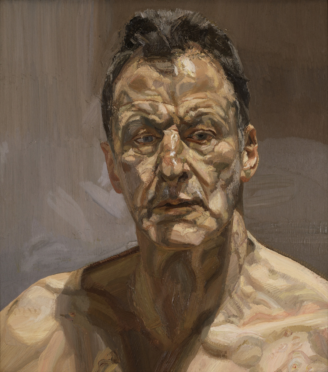 Reflection di Lucian Freud