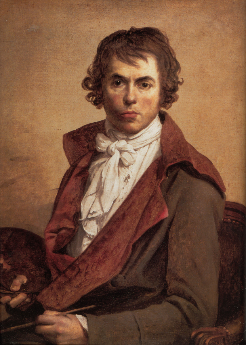 Autoritratto di Jacques-Louis David